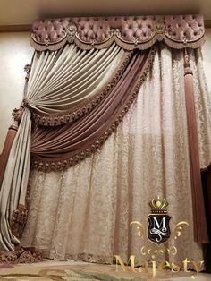 Classic Curtains, Elegant Curtains, Modern Curtains, Colorful Curtains, Curtain Designs For Bedroom, Drapery Designs, Luxury Curtains, Home Curtains, Elegant Home Decor