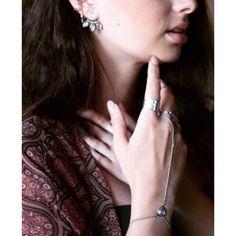 Studio Blue Jewelry #sterlingsilver #moonstone #earjacket #hoops #earrings #handjewelry #jewelry #rings #style #accessories