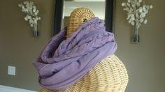 Braided Knit Infinity Scarf. $20.00, via Etsy. 2 yards of fabric.