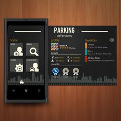 Parking Defenders turns the nightmare of parking downtown to a game that can be played with your smartphone by Maria Dashboard Mobile, Mobile App, Web Design, Mobile Ui Design, User Experience Design, Ui Design Inspiration, Ui Web, Apps, Dashboard Design