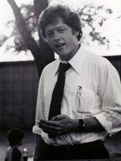 Bill Clinton campaigning for U.S. Congressman, Third District of Arkansas, summer 1974.