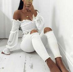 Image about white outfit in s t y l e ☆ i t ☆ u p by gööd vibėž