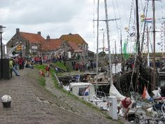 Old harbour of Stavoren (Friesland Netherlands)