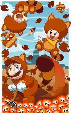Super Mario Autumn [CONTEST ENTRY] by MarkProductions.deviantart.com on @deviantART