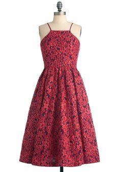 Tracy Reese Feelin' Ruby Dress | Mod Retro Vintage Dresses | ModCloth.com
