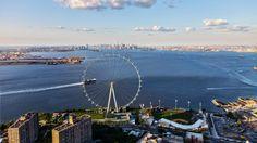 Staten Island's huge observation wheel makes progress in St. George…