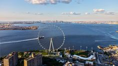 Staten Island's huge observation wheel makes progress in St. George - Construction work on what will become one of the world's tallest Ferris wheels…