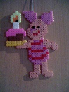 Winnie Piglet birthday perler beads by Angelique W.-  Perler® | Gallery