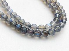 Labradorite Beads Labradorite Plain Round Balls by gemsforjewels