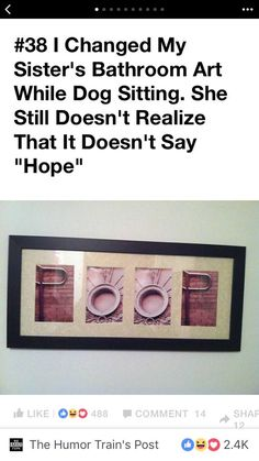 Sad thing is I probably would hang this in my house...
