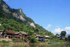 Ba Be See Vietnam Reise Asiatica Travel Unterkunft Hotel