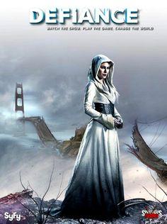 Defiance - Stahma Tarr (Jaime Murray), Datak's wife she is also a Castithan.