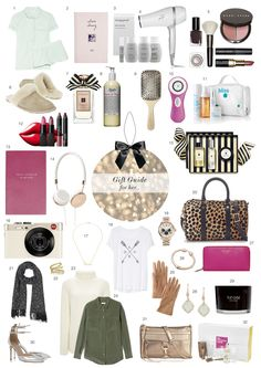 Christmas Gift Guide - For Her..