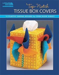 Top-Notch Tissue Box Covers - Look what you can make! This collection of tissue…