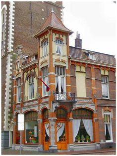 A cafe in Kampen, Netherlands