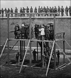 Execution of Lincoln's Conspirators