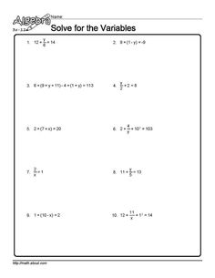 Grade 9/10 Algebra: Solving and using quadratic equations | home ...