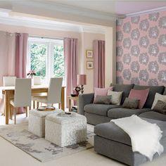 Perfect Home: Grey sofa    Sofás cinzentos