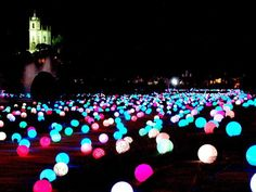 Put glow sticks in balloons and have a summer party