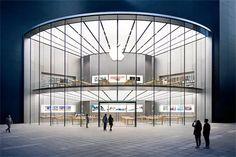 macgpic-1453055254-61086620429773-sc-op Round Building, Glass Building, Architecture Visualization, Architecture Plan, Store Plan, Glass Facades, Facade Design, Interactive Design, Ceiling Design