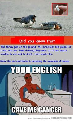 I agree with Spidey