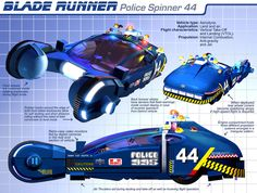 Blade Runner Police Car wallpaper