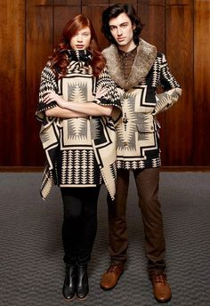 One thing about Pendleton is they promote Native American However we are not all European sized.  I absolutely love this!  Think I'll order my own Pendleton material and have one made for next year.