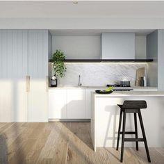 45 Fantastic Modern Scandinavian Kitchen Ideas - Home decor scandinavian Home Decor Kitchen, Kitchen Furniture, Kitchen Interior, New Kitchen, Kitchen Ideas, Kitchen White, Kitchen Modern, Simple Furniture, Bathroom Modern