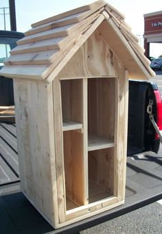 Little Free Library SOLD  New Orders Will Resume After January 2015 CUSTOM ORDER