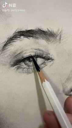 Abstract Sketches, Art Drawings Sketches Simple, Pencil Art Drawings, Art Painting Gallery, Diy Canvas Art, Art Sketchbook, Portrait Art, Aesthetic Art, Art Tutorials