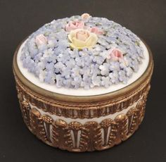 ELFINWARE Porcelain Trinket Box