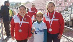 Campomaiornews: Equipa de atletismo da UF Degolados conquistou trê...