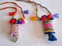 Paradise of Gypsies necklace por VivalaVirgen en Etsy