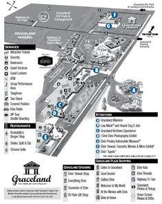 Map Of Memphis Graceland Streets Graceland Map Maps