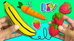 ¡¡3 BOLÍGRAFOS de VERANO!! * 🍓🍌 Personaliza tus ÚTILES ESCOLARES: Fresa,...