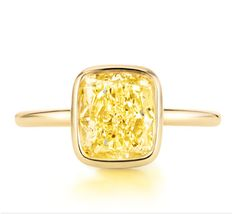 Diamant jaune Tiffany