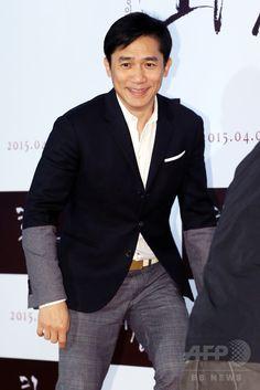 韓国・ソウルのロッテシネマ建大入口店(롯데시네마 건대입구)で行われた、映画『REVIVRE 화장』のVIP試写会に臨む、香港の俳優トニー・レオン(2015年4月6日撮影)。(c)STARNEWS ▼13Apr2015AFP|トニー・レオンら、映画『REVIVRE』の試写会出席 ソウル http://www.afpbb.com/articles/-/3045298 #梁朝偉 #梁朝伟 #Tony_Leung_ChiuWai #양조위