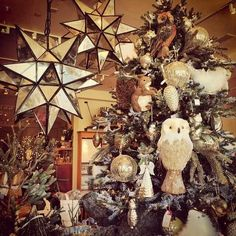 pottery barn christmas this will be my tree next year oversized ornaments - Barn Christmas Decorations