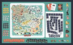 Dragon board game