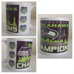 Seahawks Mug- www.facebook.com/mgspromos- www.facebook.com/mgspromos
