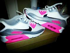 Nike Airmax 90 Pink.♡