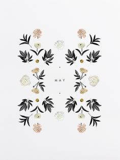 Graphic Design / floral