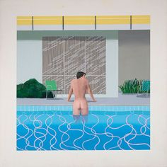Hockney, Peter Getting out of Nick's Pool,1966