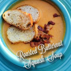 This Roasted Butternut Squash Soup is divine! I had to restrain myself from eating the squash straight out of the oven after it was done roasting. The granny smith apples add a unique and yummy flavor. My family loved it, and I was happy this recipe made enough to freeze for a second meal another night.