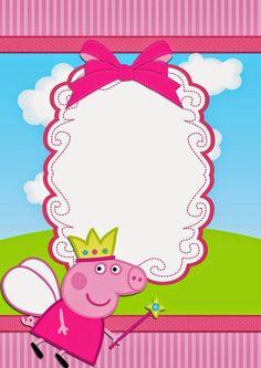 Peppa Pig Party Invitation Template Best Of Peppa Pig Invitations Make People Smile - Simple Template Design Halloween Invitation Template, Invitation Ideas, Printable Invitations, Shower Invitations, Peppa Pig Birthday Invitations, Aniversario Peppa Pig, Pig Party, Picnic Recipes, Picnic Ideas