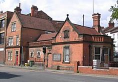 The police station in Sneinton was built in 1894 (photo: A Nicholson, Nottingham City, Police Station, Family History, Old Photos, Old School, Robin, Memories, Spaces, Mansions