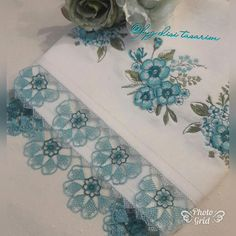 G Eazy, Embroidery On Clothes, Decorative Towels, Floral Tie, Diy And Crafts, Pink, Moda Emo, Piercings, Crochet Doilies