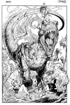 Art of Homage Studios #1 cover | Jim Lee