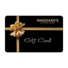 Maggiano's Gift Card Collection, (gift cards)