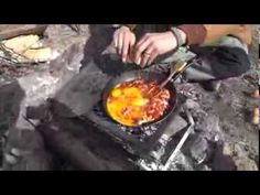 SIMPLE CAMP COOKING, SCRAMBLED EGG TACOS FOR BREAKFAST at the WRC 2014 - YouTube